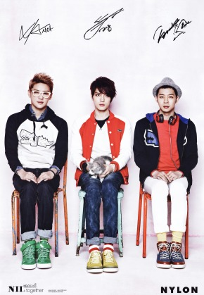 PHOTOS: HD scans of JYJ for NII Spring 2013 Collection