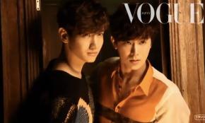 [VIDEO] Tohoshinki shoot for VogueJapan
