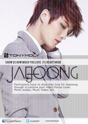 [PHOTO] Jaejoong-Tony Moly Philippines Facebook Update